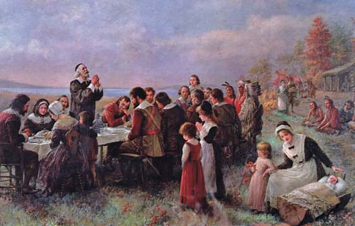 Really Old Pilgrim Picture