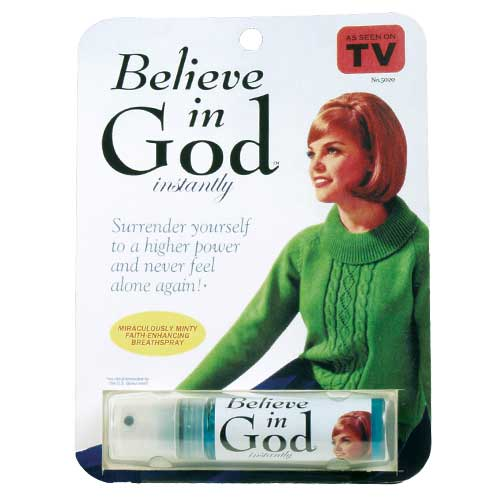 Believe in God Breath Spray