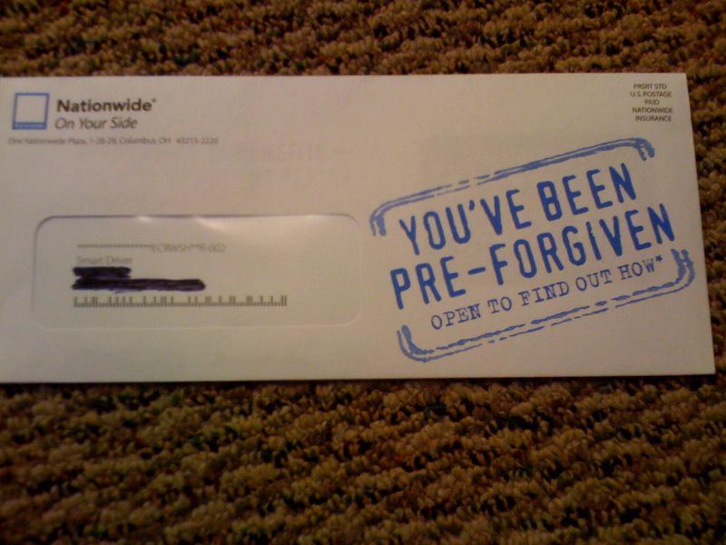 Pre-Forgiven